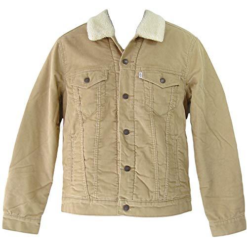 Levi's® Sherpa Trucker Jacket - Cord - gefüttert - True Chino (3XL) True Black Jeans
