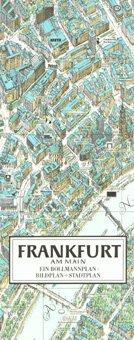 Stadtplan Frankfurt am Main in 3D von Bollmann