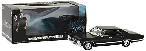 1967 Chevrolet Impala Sport Sedan Supernatural 1:24 GreenLight 84032