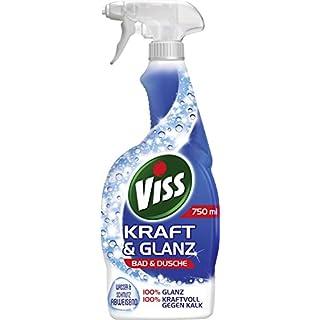 Viss Kraft & Glanz Reiniger Spray Bad & Dusche, 6er Pack (6 x 750 ml)