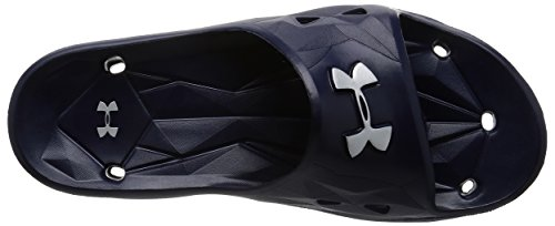 Under Armour Ua M Locker Iii Sl, Chaussures de Plage et Piscine Homme Bleu (Midnight Navy)