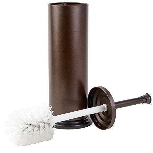 Richards Homewares Premium Qualität WC-Bürste mit WC-Bürstenhalter SET-Superior Qualität Badezimmer Reinigungsbürste mit passendem Ständer (Bronze) -