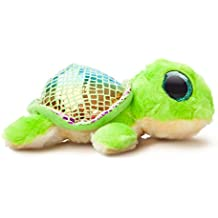 "Aurora World ""Flippee la tortuga Yoohoo And Friends – Sealife – Peluche (Tamaño Mediano), color verde/verde claro"