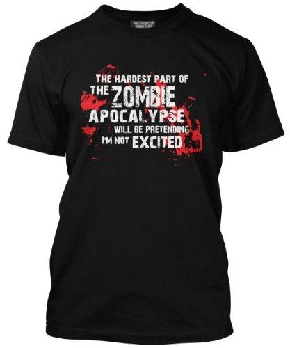 Hochwertiges, schwarzes T-Shirt für Männer mit
