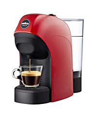 Idea Regalo - Lavazza a Modo Mio Tiny Macchina caffè, 1450 W, 0.75 Litri, Rosso