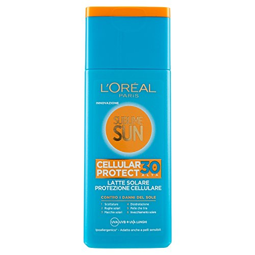 L'Oréal Paris Crema Solare Sublime Sun Cellular...
