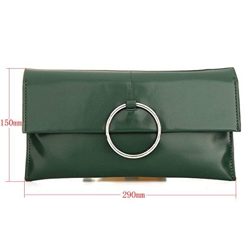 HT Ladies Crossbody Bag Evening Handbags, Borsa a tracolla donna White