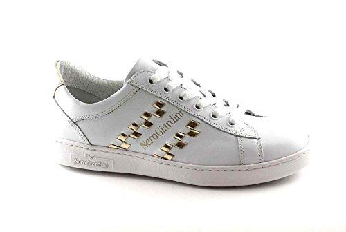 NERO GIARDINI 17270 bianco scarpe donna sportive sneakers lacci Bianco