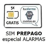 Tarjeta SIM para Alarma  PREPAGO SIN cuotas fijas NI permanencia (SIN costos fijos), con Recarga automática  ¡¡ Especial para Alarmas gsm, localizadores y rastreadores GPS y Dispositivos gsm !!