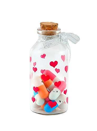 Atnep Lilone Capsule Message In A Bottle - 12X Color Pills