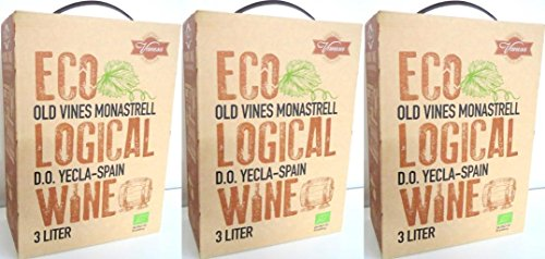 RELL ECOLOGICAL WEIN ROT Bag in Box 3 LITER 14% Incl. Goodie von Flensburger Handel (Goodie-boxen)