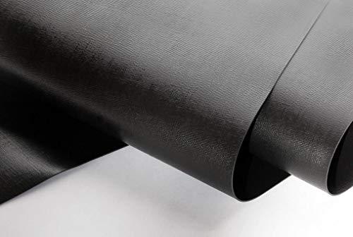 NORDFOL 4,69€/m² Teichfolie schwarz PVC -P 1,0mm stark - Folie, Gartenteich, Goldfischteich (PVC-P, 12m x 16m)