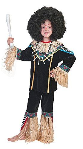 Kostüm Zum Thema Afrika - Pierro´s Kostüm Afrikaner Kimoni Kind Mädchenkostüm