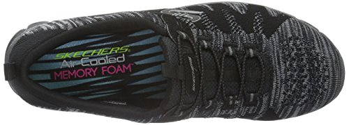 Skechers Damen EZ Flex 3.0 Take-The-Lead Sneakers Schwarz (Blk)