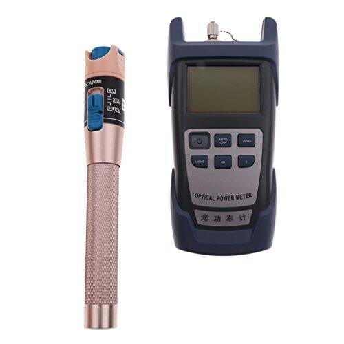 Sharplace Lichtwellenleiter Leistungsmesser Testbereich: -70dBm ~ + 10dBmt + 1 Megawatt Visuelle Fehler Locator Rot Lichtquelle Lichtwellenleiter-Tester