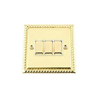 A5 Products BG SWI Light Switch, Gold Effect