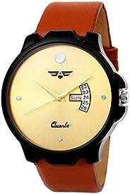 ASGARD Golden Dial Watch for Men, Boys-173-GS
