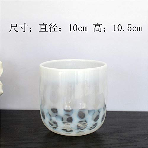 yeahbo Small Wax Cup Pen Holder Fruit Bowl Flower Pot Soft Decoration Home Decoration Water Culture Device Home Vase Decoration -