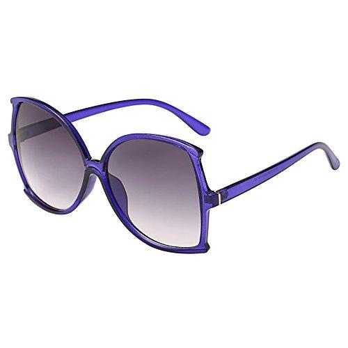 Battnot☀ Sonnenbrille für Damen Herren, Oversized Übergroße Unisex Vintage Rahmen Unregelmäßige Form Mode Anti-UV Gläser Schutzbrillen Männer Frauen Retro Billig Sunglasses Women Eyewear Eyeglasses