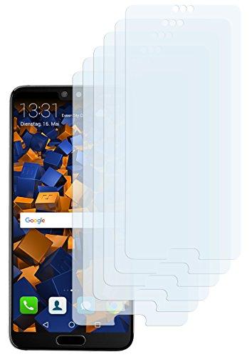 mumbi Schutzfolie kompatibel mit Huawei P20 Folie klar, Bildschirmschutzfolie (6x)