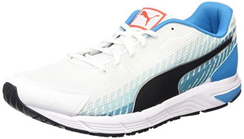 Puma Sequence V2, Chaussures de course homme Multicolore (White/Black/AtomicBleu)