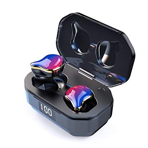 Yowablo Bluetooth Kopfhörer,Kabellose In-Ear-Kopfhörer Kabelloser Earbud 5.0 Stereo-Kopfhörer mit Bass-In-Ear-Headset für iPhone, Samsung, Huawei ( Mehrfarbig )
