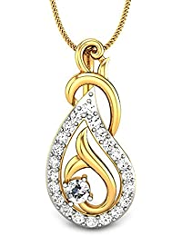 Candere By Kalyan Jewellers 22KT Yellow Gold Pendant for Women