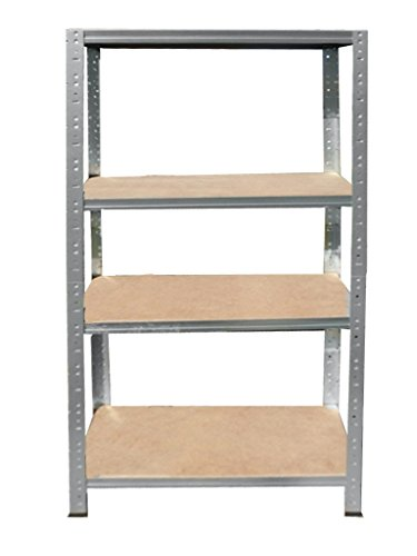 Preisvergleich Produktbild Steckregal 180x80x40 cm 4 Böden verzinkt Kellerregal Metallregal Regal Regalsysteme Lagerregal