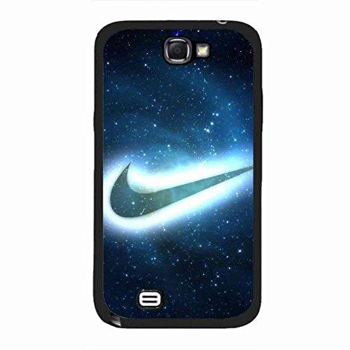 Samsung Galaxy Note 2 Hülle/Schutzhülle,Nike Logo For Samsung Galaxy Note 2 Hülle/Schutzhülle,Nike Black Case Cover For Samsung Galaxy Note 2