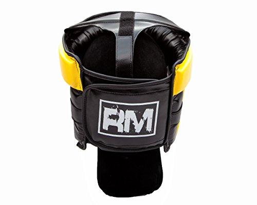 RingMasterUK Kopfschutz für Kinder, Kopfbedeckung für Boxen, Kampfsport, Kickboxen Abbildung 2