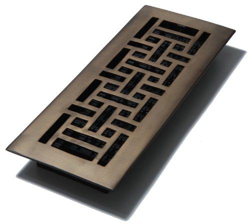 Decor Reiben 4-Zoll von 12Zoll Oriental Boden Register, AJ412-RB