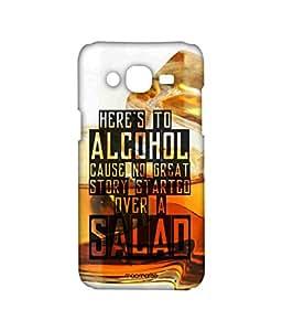 Licensed Macmerise Illustrations Alcohol, Quotes Premium Printed Back cover Case for Samsung J7