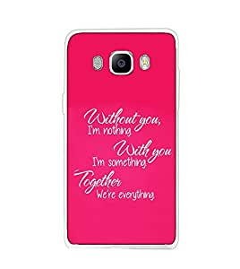 SAMSUNG ON8 SILICON BACK COVER BY aadia