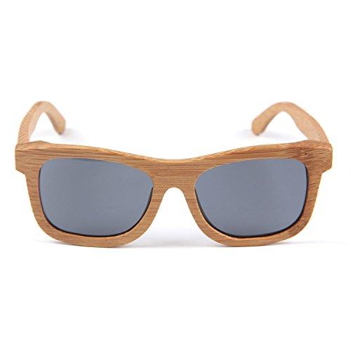 Freiesoldaten Herren und Damen Handarbeit Voll Rahmen Draussen Sonnenbrille Leicht Holz beschichtet...