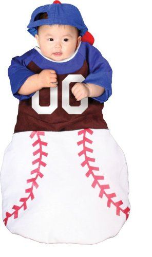 ke-up Party Kleidung Festival Fasching Karneval Cosplay Maskerade WMU Kostuem Bunting Home Run Baby 0-6 Monate ()