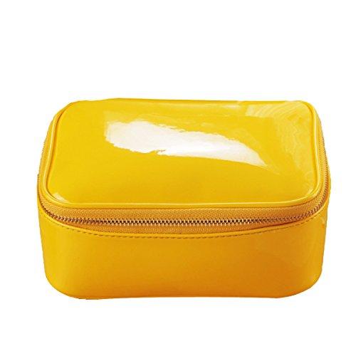 Reise Multifunktion Waschbeutel Großraum Wasserdicht Kosmetiktasche Yellow