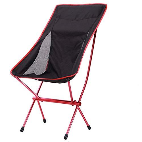 Hxx Outdoor Tragbare Oxford Tuch Angeln Stuhl, Freizeit Strand Stuhl, Camping Ausflug, Luftfahrt Aluminiumrohr Klappstuhl, 57X70X102 cm -