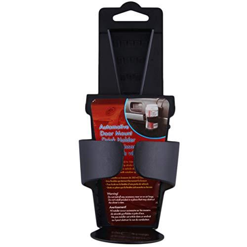 Banbie8409 Schwarzer Universalfahrzeug-Auto-LKW-Tür-Berg-Getränkeflaschen-Getränkehalter-Stand-1#- -