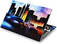 City Car 12.1 13 13.3 14 15 15.4 15.6 Inches Personalized Laptop Skin Sticker Decal Universal Netbook Skin Sti
