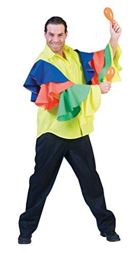 rasilianer Kostüm Herren Brasil Kostüm Rio Samba Kostüm Brasilien Kostüm Karneval Rio Herren-Kostüm Größe 48/50 (Brasilianische Kostüme Halloween)