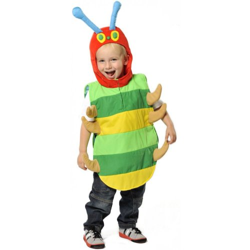 Caterpillar Tabard - Kids Costume 3 - 5 - Hungry Caterpillar Kostüm