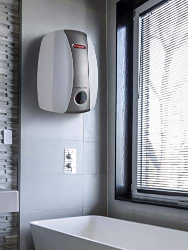 Racold Pronto Stylo 3-Litre Instant Water Heater (White and Tan)