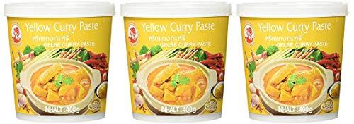 Cock - Gelbe Currypaste - 3er-Pack (3 x 400g)
