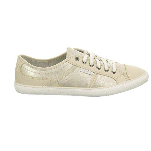 ESPRIT  016EK1W004-790, Chaussures de ville à lacets pour femme Jaune