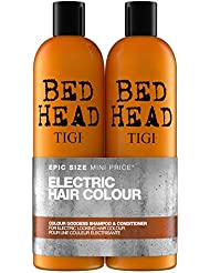 TIGI Bed Head Colour Goddess Tween Duo Oil Infused Shampoo and Conditioner, 750 ml, Pack of 2