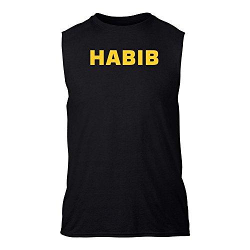 habib-t-shirt-senza-maniche-nero-l