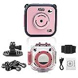 Digital kamera kinder,1.77'' TFT LCD 1.3MP HD Waterproof Sports Action Camera for Kids,Kreative DIY Kamera FÜR Kinder Jungen Mädchen
