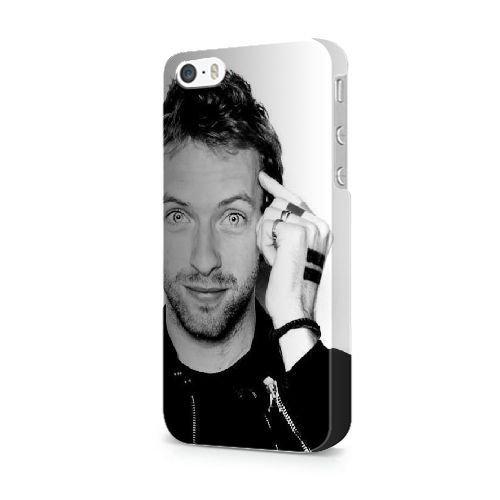 COUTUM iPhone 5/5s/SE Coque [GJJFHAGJ74971][BTS BANGTAN BOYS THÈME] Plastique dur Snap-On 3D Coque pour iPhone 5/5s/SE CHRIS MARTIN - 008