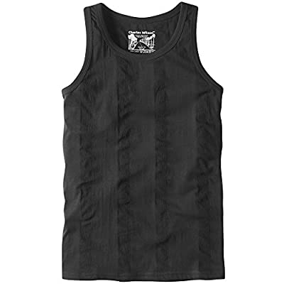 3 PACK - Charles Wilson Lightweight Ribbed Vest