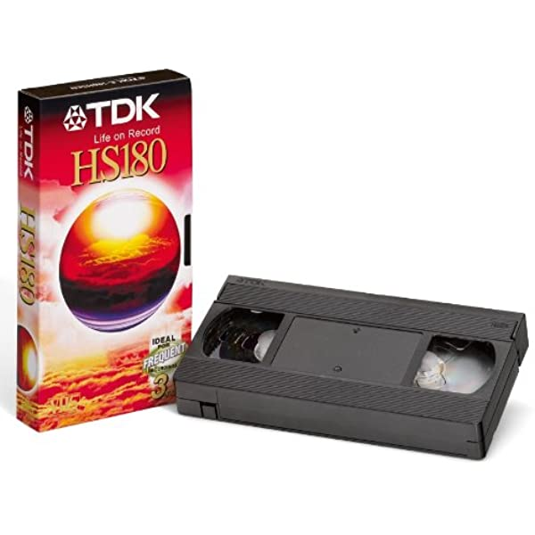 Tdk Vhs Videokassette Hs 180 1 Stück Elektronik
